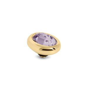 Ovaal 8mm Goud € 20,00 in de kleurenPinkAubergineChampagneMontana