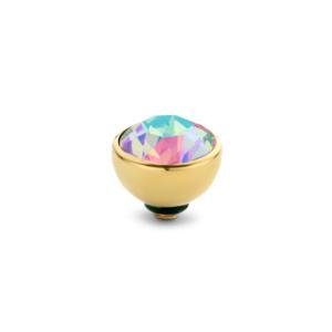 Rond 6 mm Goud € 20,00 in de kleurenChrysoliteOrangeJeans BleuAubergineBlackCrystalRuby RedSmokey TopazMintFern GreenOlive