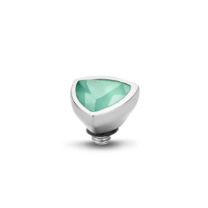 triangel zilver 25,00 in de kleurenSmokey TopazCrystalChampagne